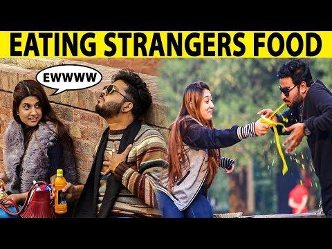 Eating Strangers Food Prank Gone Wrong - BNU University - Lahori PrankStar