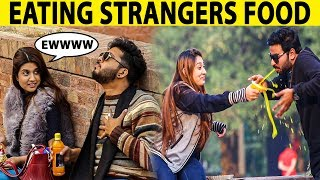 Eating Strangers Food Prank Gone Wrong - BNU University - Lahori PrankStar