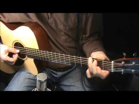wild mountain thyme- chords- fingerstyle- no harmony