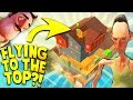 LET'S FLY! HELLO NEIGHBOR'S BROTHER IS HIDING SOMEONE UPSTAIRS?!   Hello Neighbor Mobile Ripoff Game