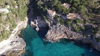 Mallorca Balearen...Es Pontàs...Cala Santanyí.....Cala Lombards..DJI  Phantom 3 Drone  Luftaufnahme