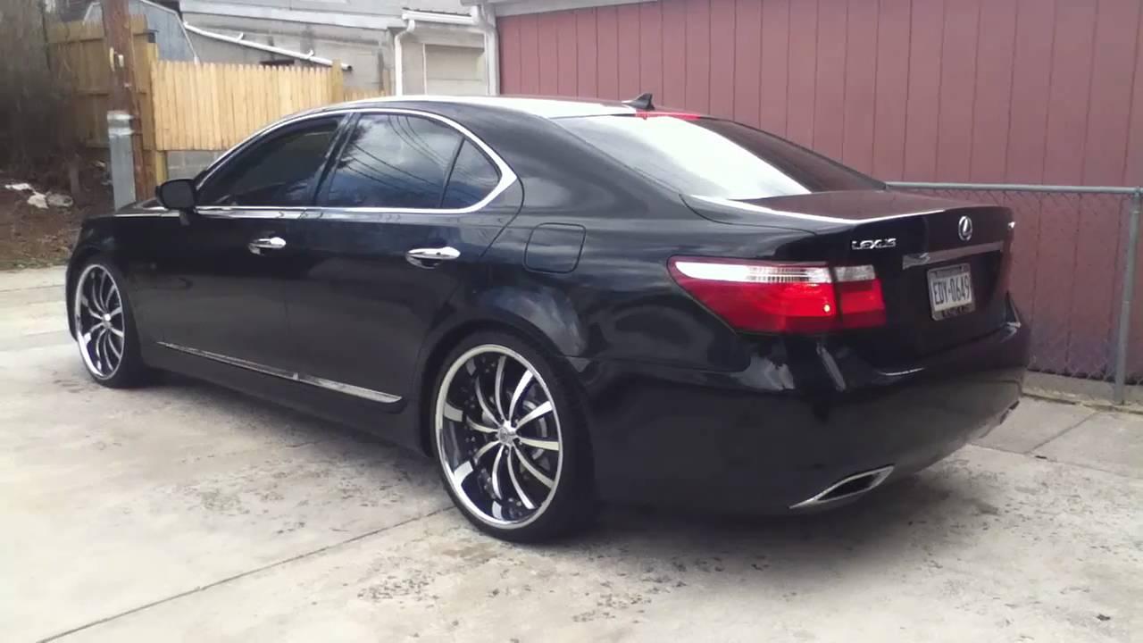 Lexus Isf Specs >> Lexus LS460 On 22's Staggered | Doovi