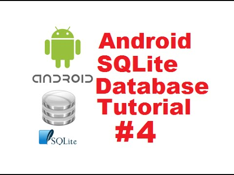 Android SQLite Database Tutorial 4 # Show SQLite Database table Values  using Android