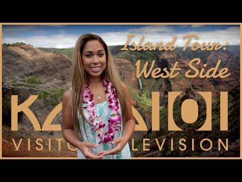 Kaua'i Island Tour - Part 04 - West Shore, Port Allen, Hanapepe, Waimea - Kaua'i-TV