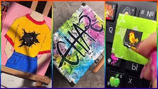 Amazing People Painting Things on TikTok for 5 Minutes Straight
