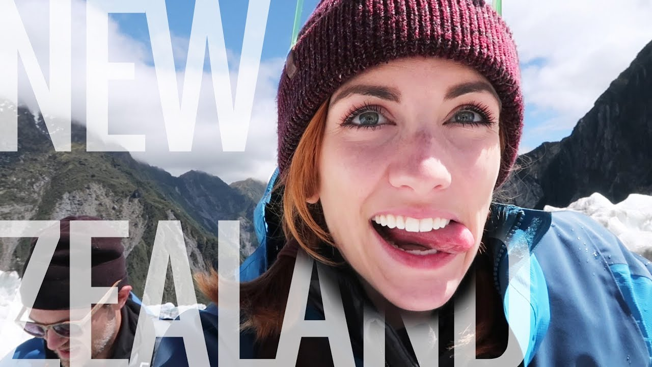HELICOPTER TO HIKE ON A GLACIER?! New Zealand vlog || Sunday Funday