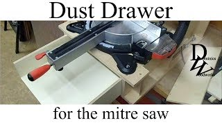 Dust Drawer For The Mitre Saw Stand