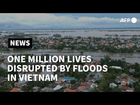 Flood disrupts life of local residents in central Vietnam | AFP