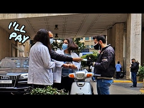 Paying Food Deliveries Of Health Care Workers - دفعنا الحساب عن الطاقم الطبي