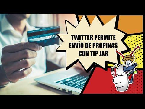 Twitter permite envío de propinas con Tip Jar  Hormiga TV