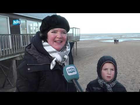 Containerschip verliest lading in de Waddenzee