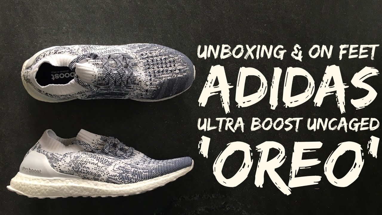 bba89e9b620a97 ... ireland adidas ultra boost uncaged oreo unboxing on feet fashion shoes  2016 hd youtube b2759 dcbf5