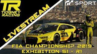[GT Sport Livestream] - XXX Tyre Wear || FIA 2019 Exhibition Season 1 - R1