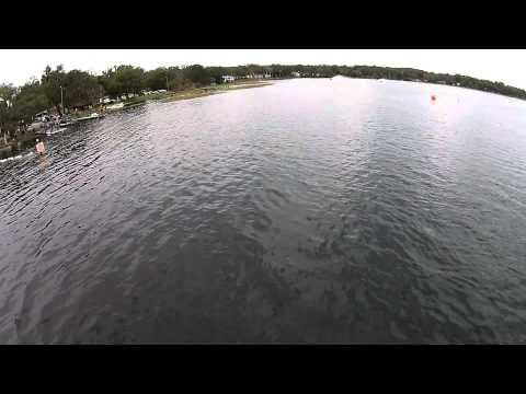 US F1 Demo Runs Footage on Lake Hernando in Citrus County, FL
