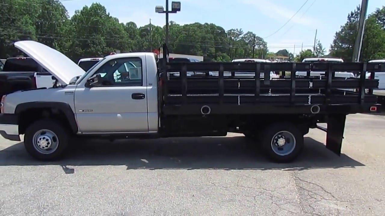 Pickup chevy c7500 pickup : 2004 Chevrolet Silverado 3500 Stake Body - TRUCK SHOWCASE - YouTube