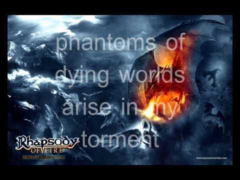 Rhapsody Of Fire   The Frozen Tears Of Angels lyrics.WMV