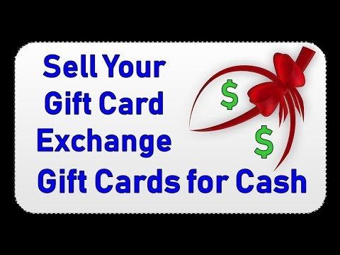 Sell Your Gift Card Exchange Gift Cards For Cash Youtube