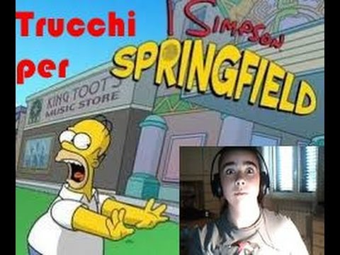 I Simpson Springfield Ciambelle Gratis - Player.it