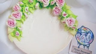 Свадебный декор*Блюдце для колец*Мастер-класс/Wedding decor*Saucer for rings*Master class
