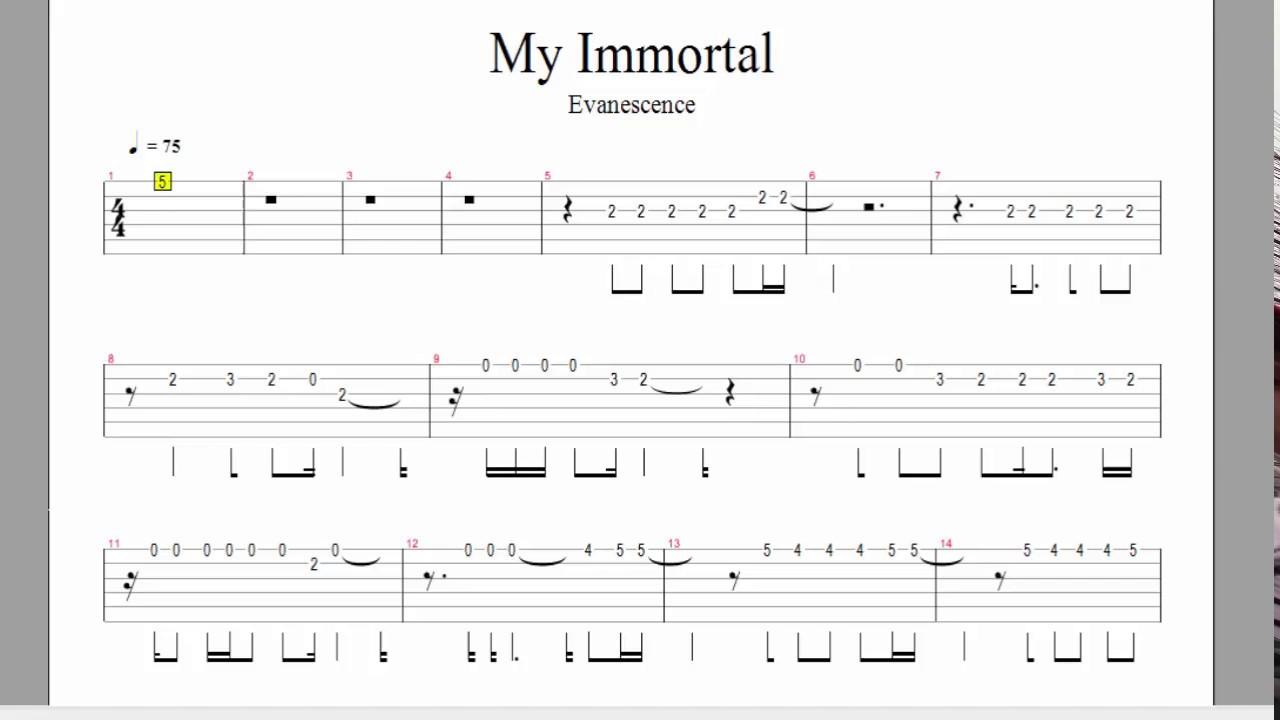 musica my immortal evanescence gratis