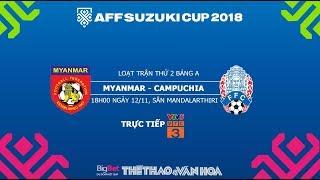 AFF Cup 2018 - Dự đoán kết quả Myanmar vs Campuchia - Trực tiếp VTV5, VTC3