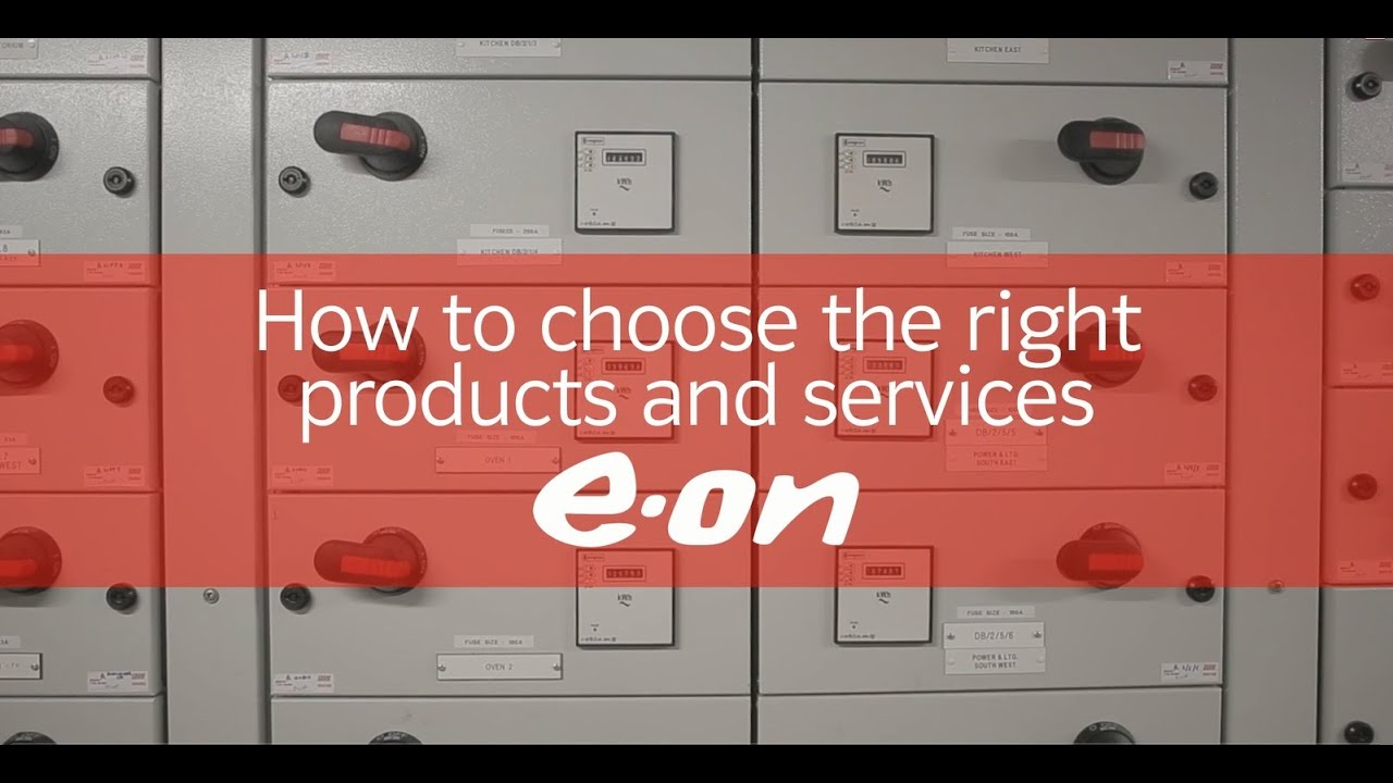 How to choose the right products and services