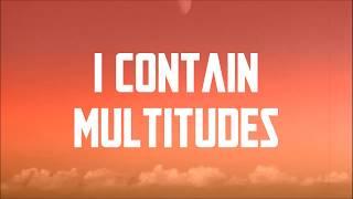 Bob Dylan - I Contain Multitudes (Lyrics) HD