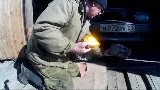 замена передней фары ваз2114