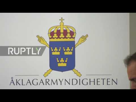 Sweden: Prosecutors give update on Assange rape probe