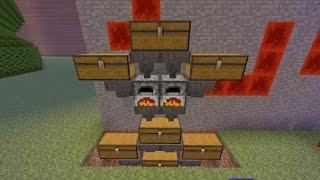 Tutorial / Automatischer Ofen bauen Oha xD / Minecraft / Ps4 / Deutsch