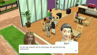 Lets play Sims mobile part 2 # Getting a job