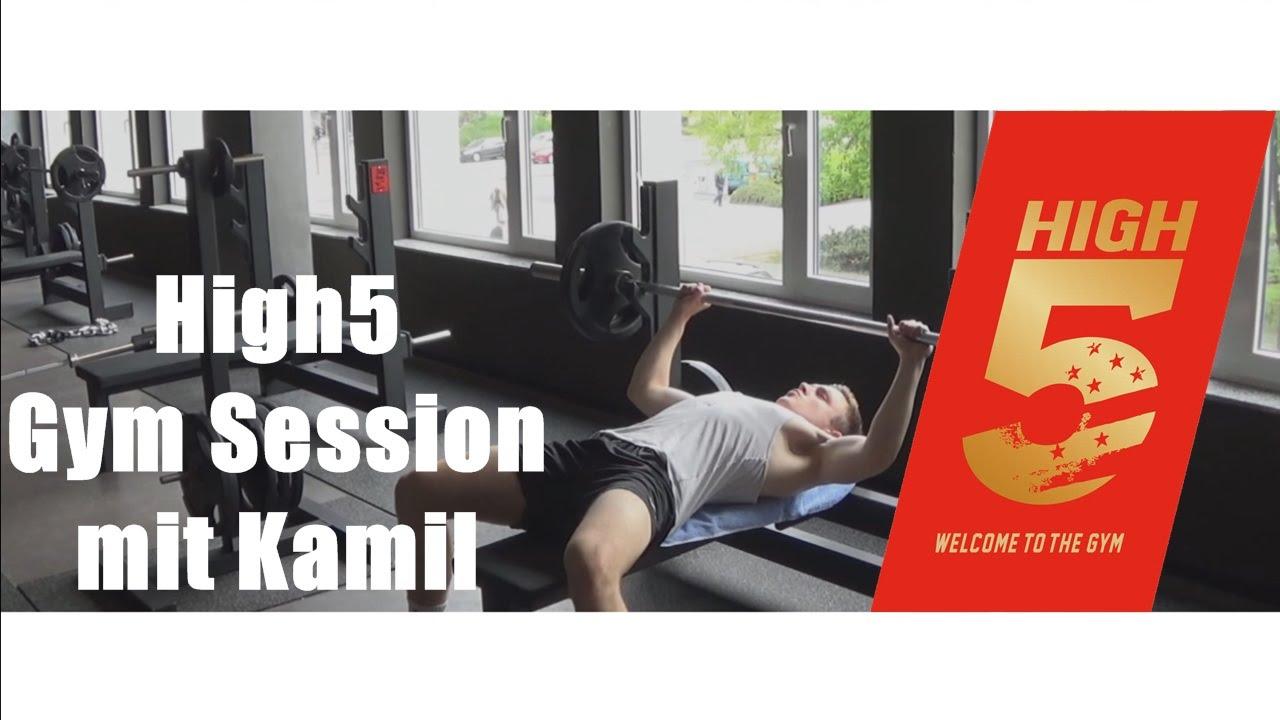 high5 gym session mit kamil i never give up i montage youtube. Black Bedroom Furniture Sets. Home Design Ideas