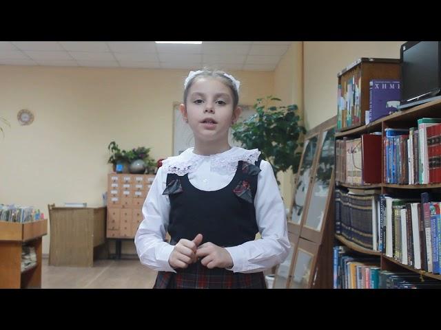 Изображение предпросмотра прочтения – ПолинаГребинщекова читает произведение «У кроватки» М.И.Цветаевой
