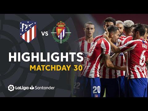 Highlights Atletico Madrid vs Real Valladolid (1-0)