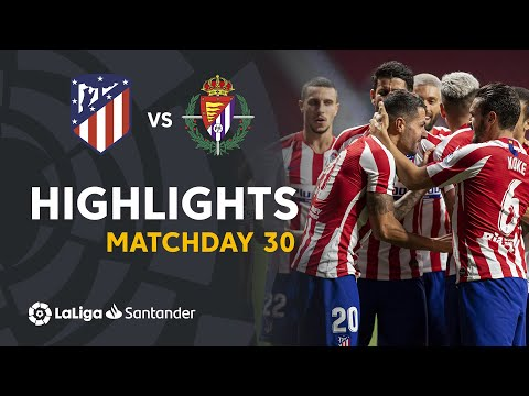 Atletico Madrid Valladolid Goals And Highlights
