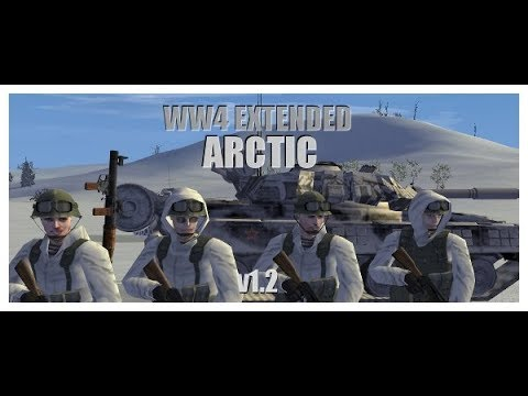 Operation Flashpoint: Cold War Crisis - Mod: WW4 - Campanha: Arctic - Missão 01