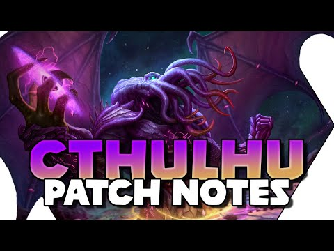 SMITE Cthulhu Patch Notes! Cthulhu Abilities! Warrior's Blessing Nerf! SMITE Patch 7.6