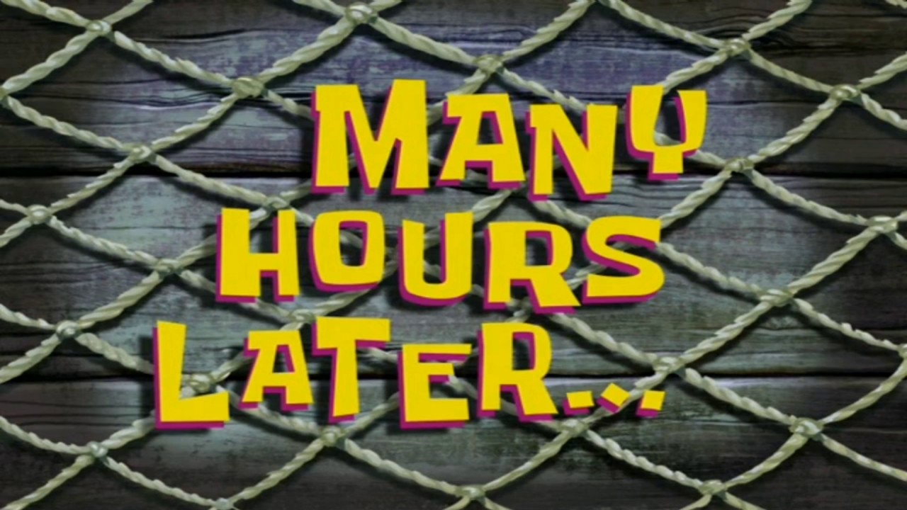 Spongebob Later Seconds 12