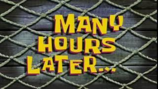 Скачать Many Hours Later SpongeBob Time Card 82