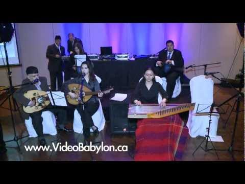 Iraqi Music ( Al Galghi Al Baghdadi Band )  اغاني عراقية  Toronto Wedding  Musicians