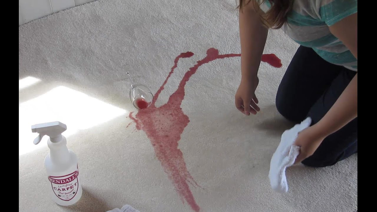 Remove Red Wine Stain White Carpet Two Birds Home