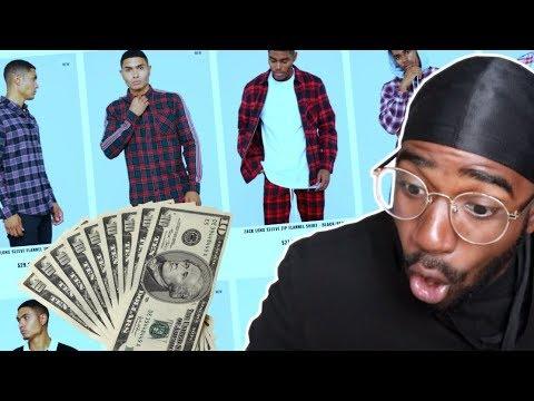 What Can $100 Get You On FASHION NOVA MENS?? (IM SHOCKED)