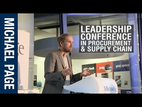 Michael Page Procurement and Supply Chain Conference
