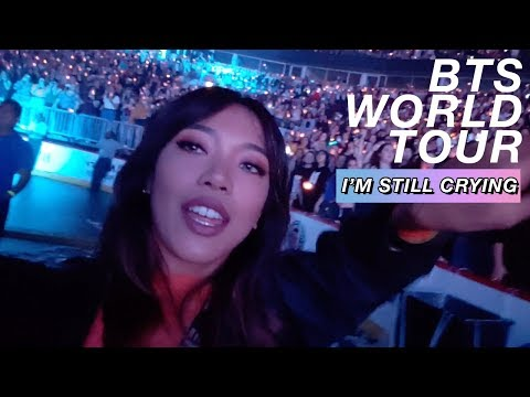 BTS WORLD TOUR 2018 VLOG! Traveled Alone Across The Country To 4 Shows! 💜| 방탄소년단 | Nava Rose