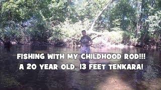 Рибалка з 20-річним, 13 футів штанга!!! Давайте зробимо деякі тенкара Нахлист! (Bethayres, ПА)