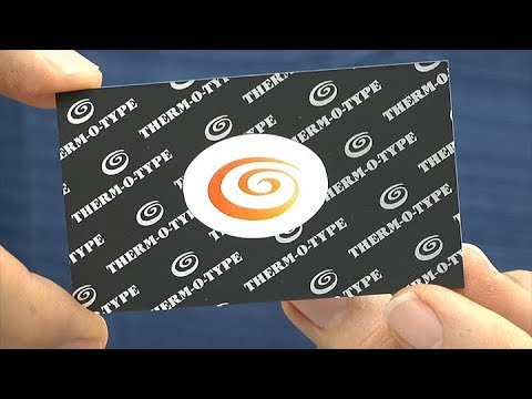 Thick Business Cards on the Glue-Tech