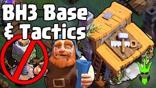 EARLY BH3 BASE (No Crusher) - 1000 Trophies w/ Replays! - Clash of Clans - Massive Update BH3