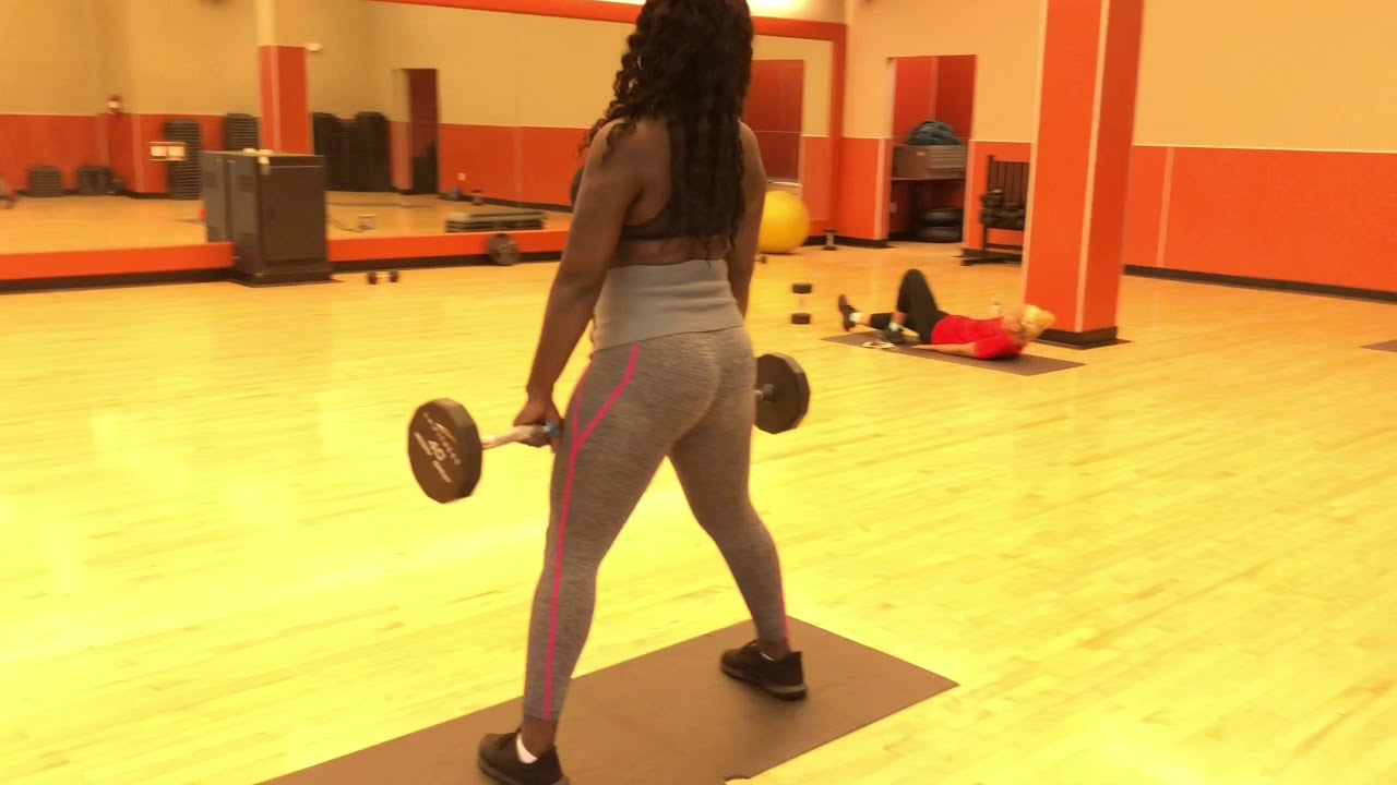 Black Asian Queen -Natasha- : Workout Video Part 1 Amazing Lets Work