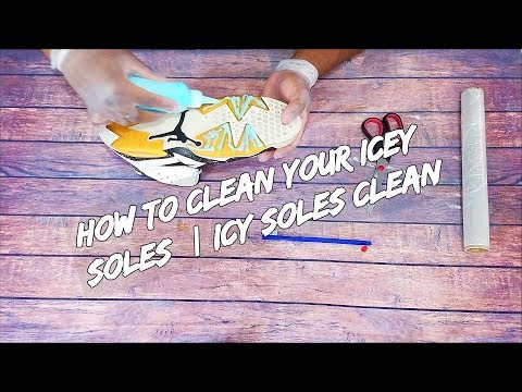 How To Clean Your Icey Soles | Icy Soles Clean