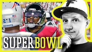WER GEWINNT SUPER BOWL 51? Patriots vs Falcons Madden NFL 17 Vorschau (deutsch)